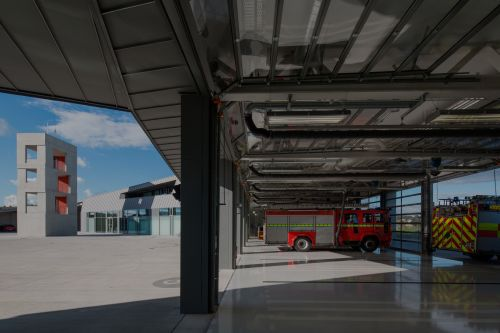McCullough Mulvin Architects, Christian Richters · Waterford Fire Station