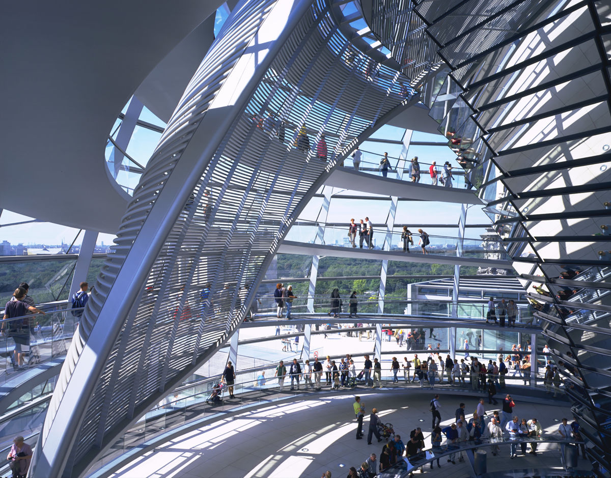 Foster Partners Dennis Gilbert Nigel Young 183 Reichstag