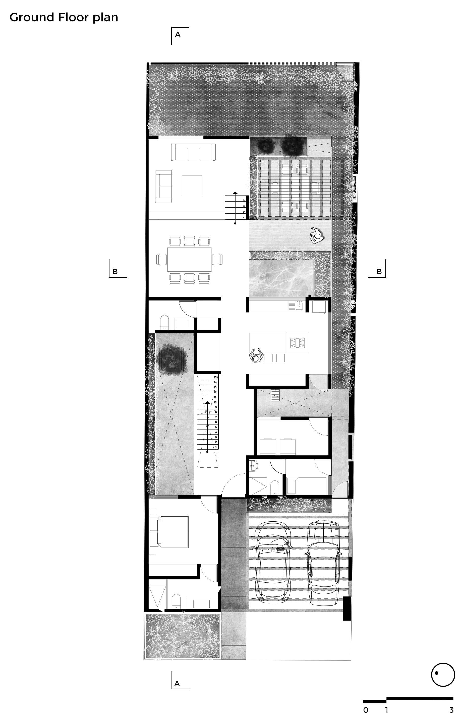 Plans of single family houses a collection curated by for Plan de arquitectura